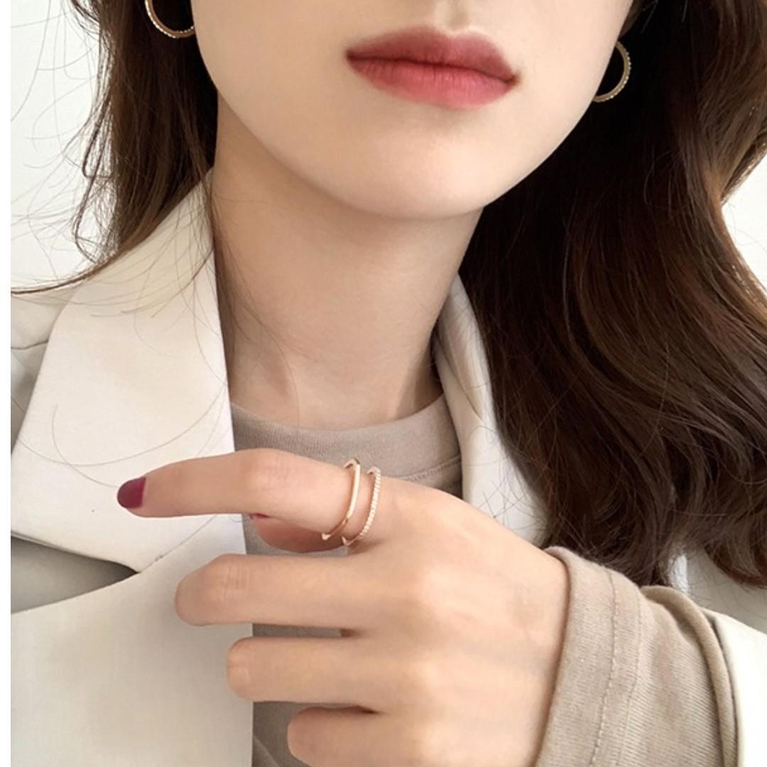 [faith28.com] 全新Coconutonni韓國女裝衫直送新款靚料東大門直送批earrings水鑽耳環頸鏈Necklace戒指Ring