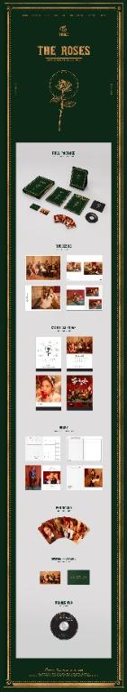 [FLASH DEAL] TWICE 2019 SEASON'S GREETINGS THE ROSES