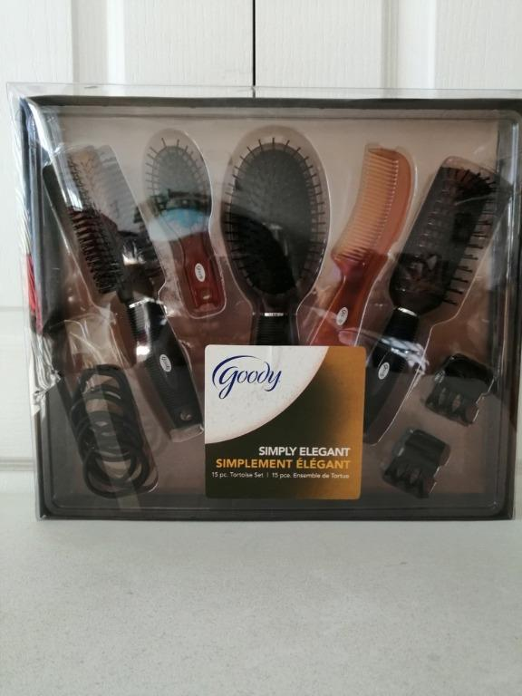 Goody Hair Brush and Accessories set