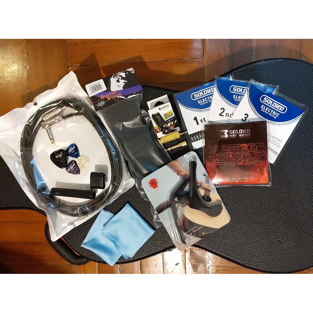 Guitar accessories bundle