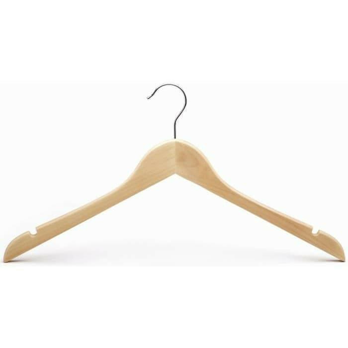 Hanger Kayu ( Gantungan Baju Kayu)