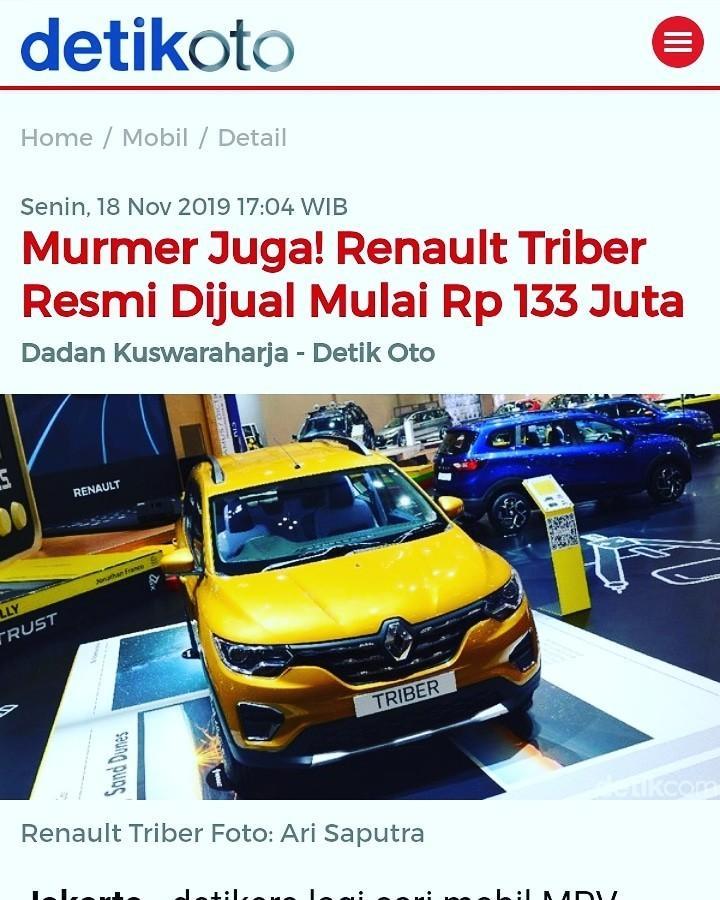 Honda Brio VS Renault TRIBER 2019