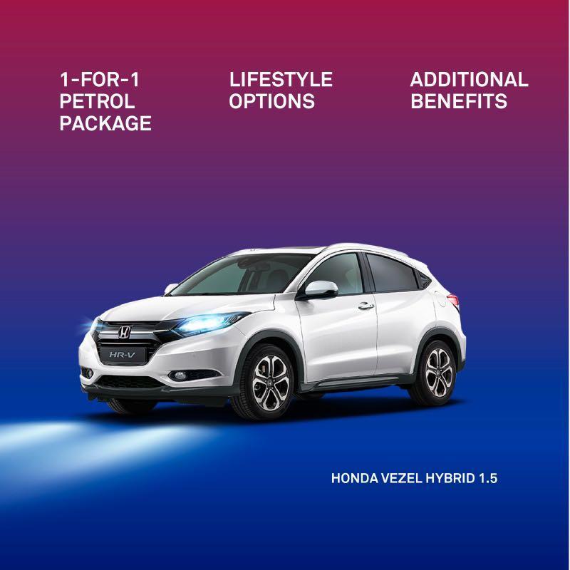 Honda Vezel Hybrid 1.5 for Grab and Gojek
