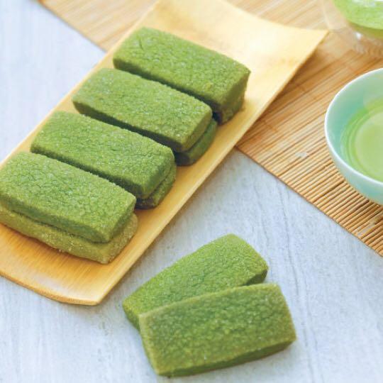 iBakery 抹茶曲奇100g (少甜) Green Tea Cookies (Less Sweet)