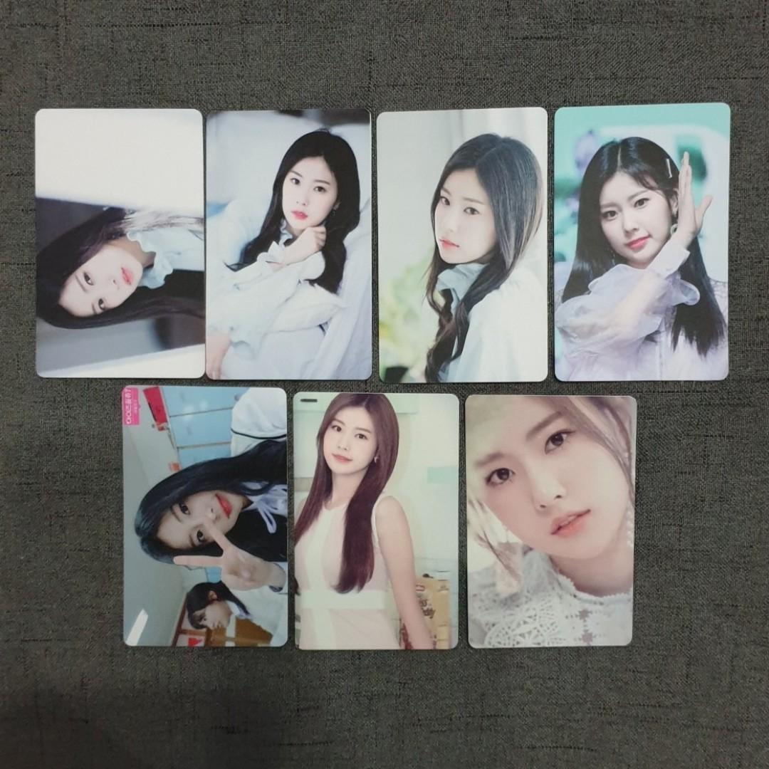 [INSTOCKS] IZONE Hyewon Unofficial Photocards Set A