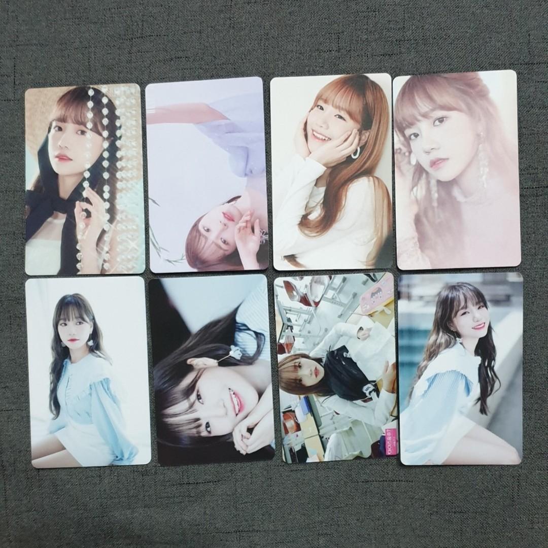 [INSTOCKS] IZONE Jo Yuri Unofficial Photocards Set A