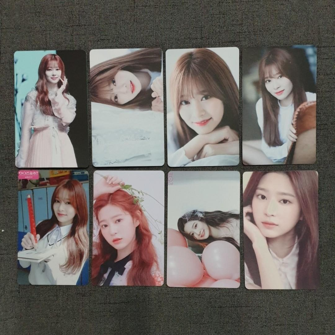 [INSTOCKS] IZONE Minju Unofficial Photocards Set B