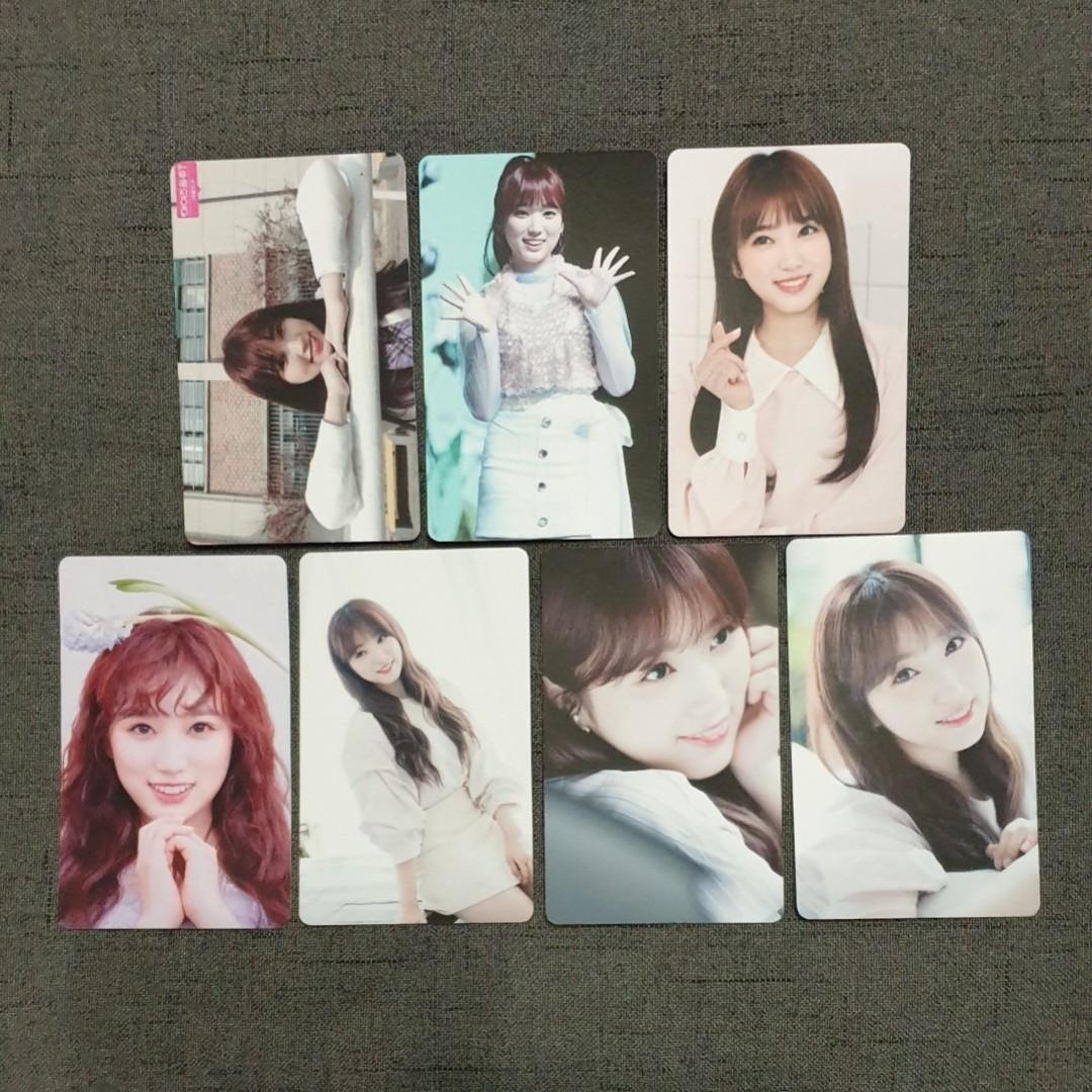 [INSTOCKS] IZONE Nako Unofficial Photocards Set A