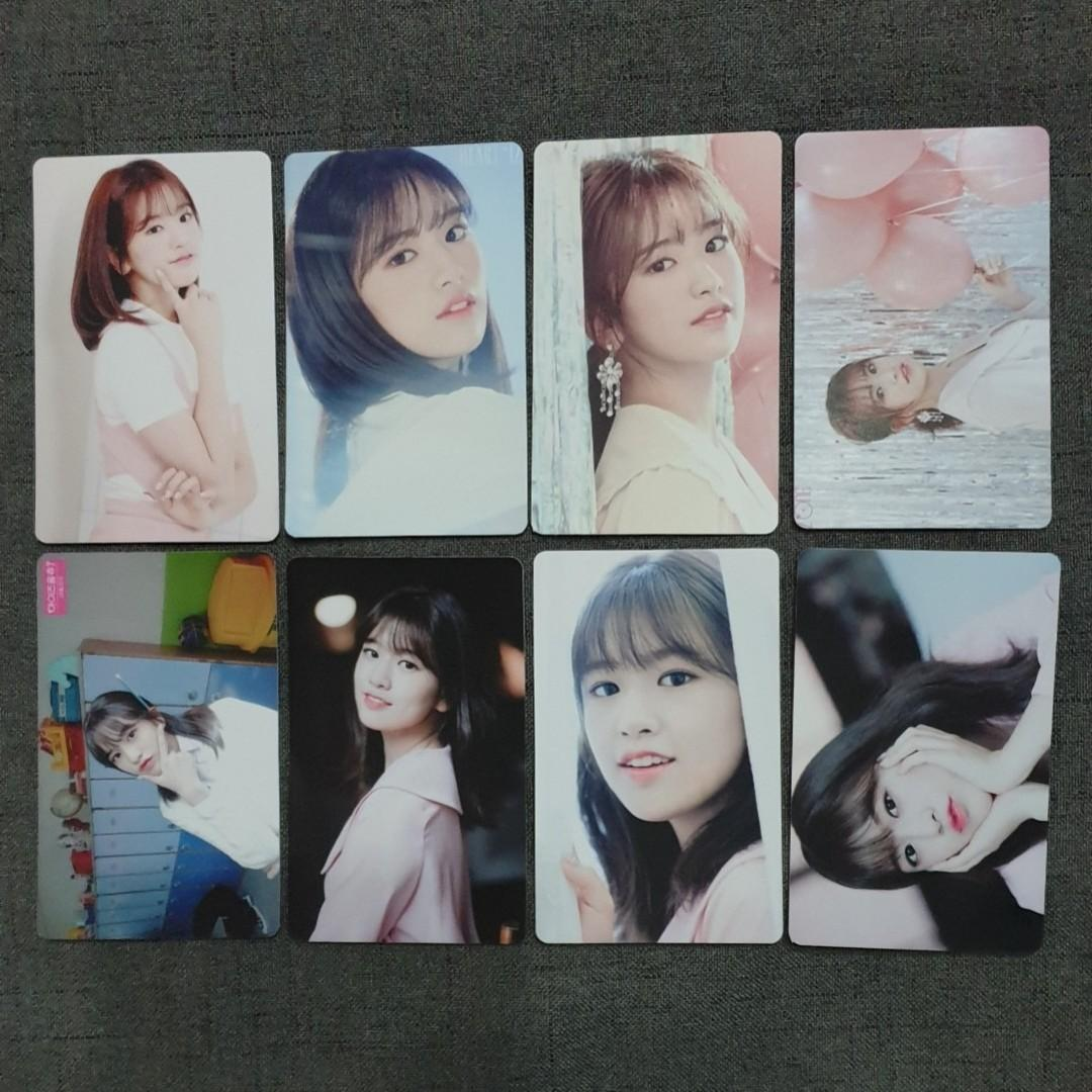 [INSTOCKS] IZONE Yujin Unofficial Photocards Set A