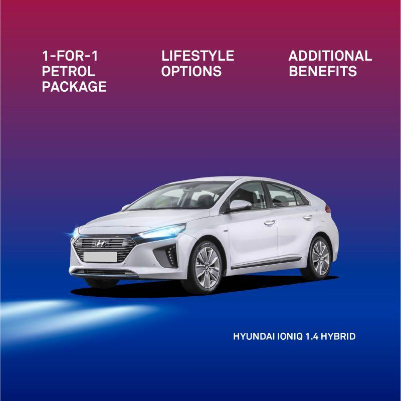 New Ioniq Hybrid special promotion