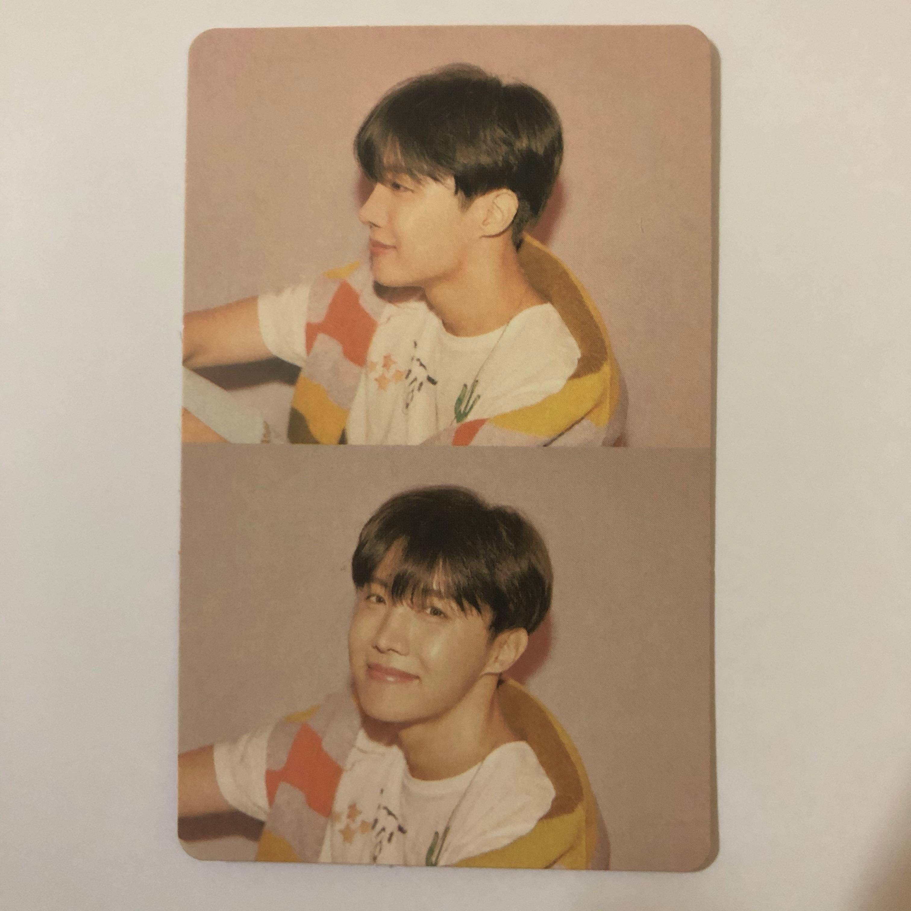 J-hope(BTS)'MAP OF THE SOUL: PERSONA' Ver. 01 Official photocard