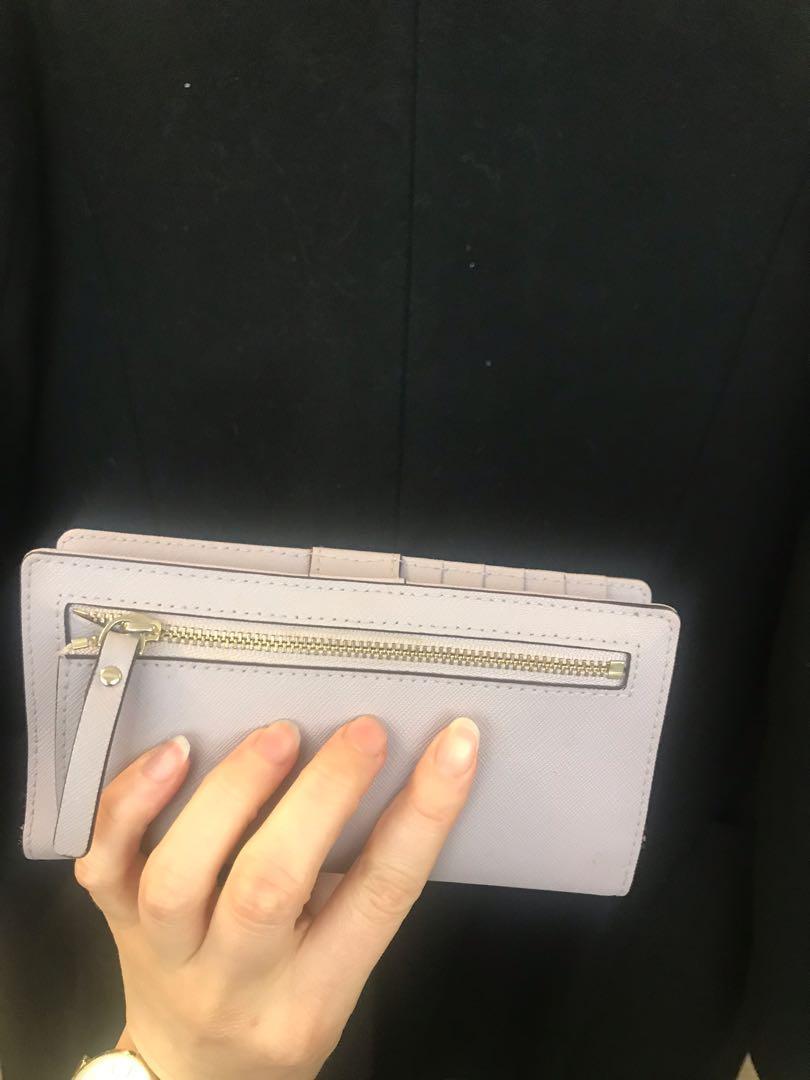 Kate Spade Pastel Purple Wallet