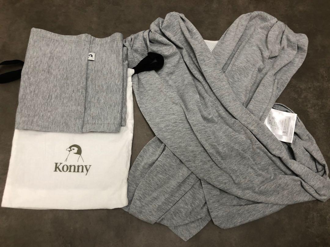 Konny XS淺灰色揹帶