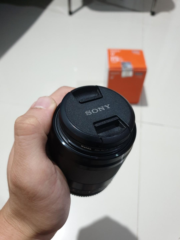 Lensa Sony E 50mm F1.8  Mirrorless APSC Murah BU