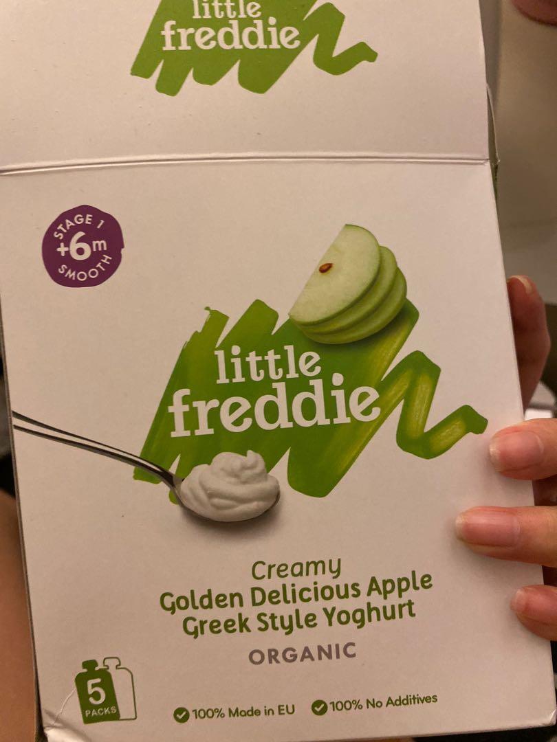 little freddie 蘋果yoghurt