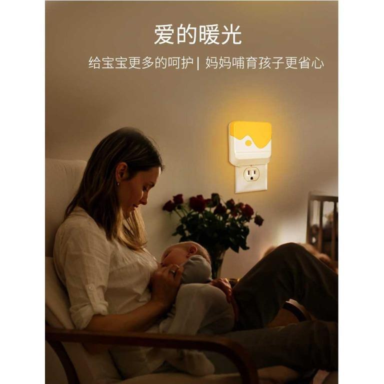 LOAMLIN Lampu LED Malam Dinding Light Sensor Cahaya EU Plug - Li1 TItanGadget