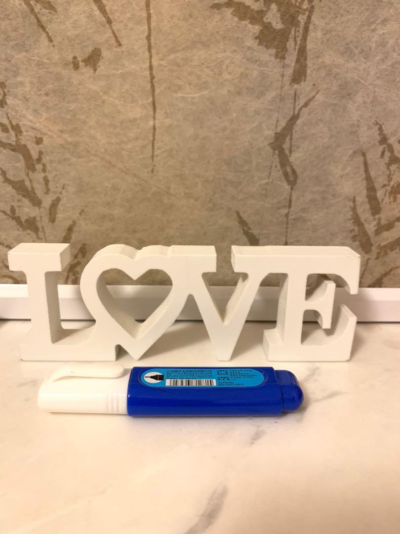白色Love 木牌💕婚後物資(婚禮、裝飾、婚禮佈置、家居裝飾)