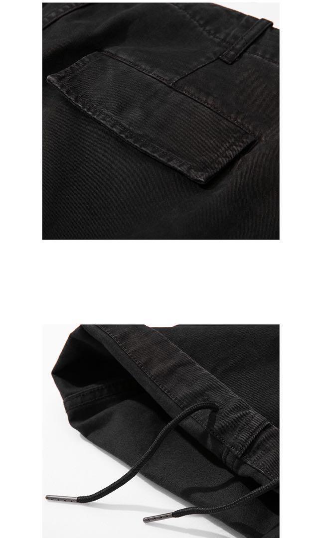 M-51蠟染洗水軍褲 黑色 W33-34