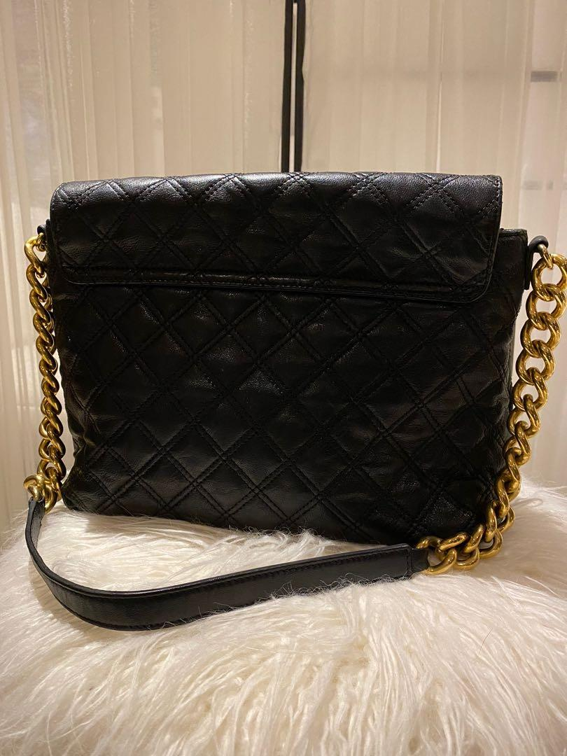 Marc Jacobs Quilted Black Leather Bag (Brand new-Tags attached)