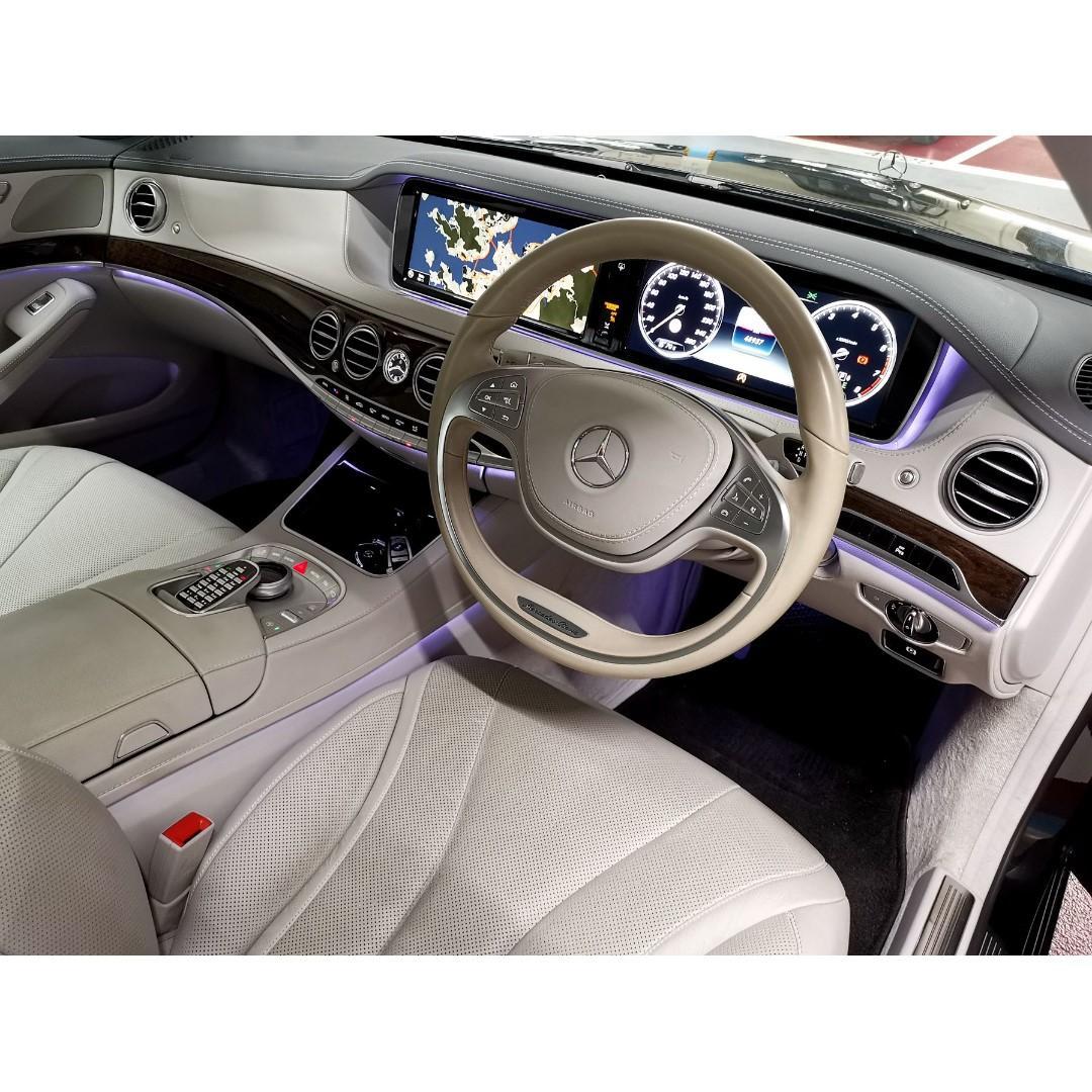 MERCEDES-BENZ S320 2015
