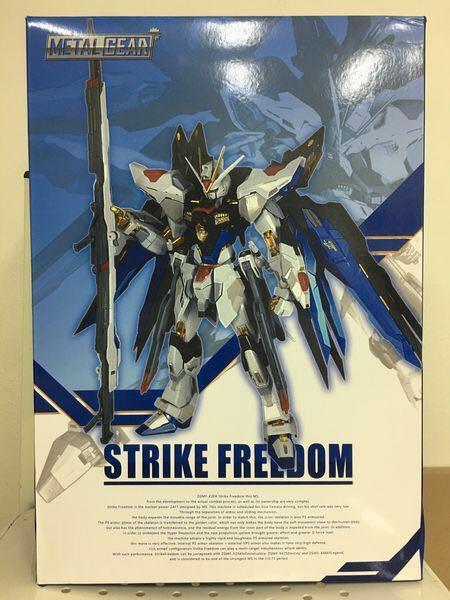 Metal build Metal Gear MC Strike Freedom Gundam  突擊自由 高達  seed destiny
