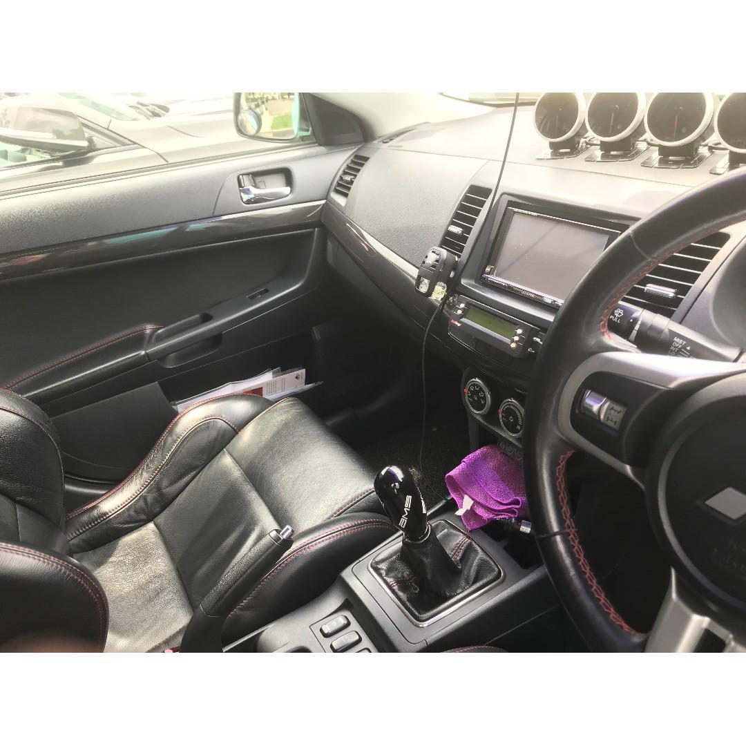 Mitsubishi Lancer Evolution X GSR Premium Package Manual