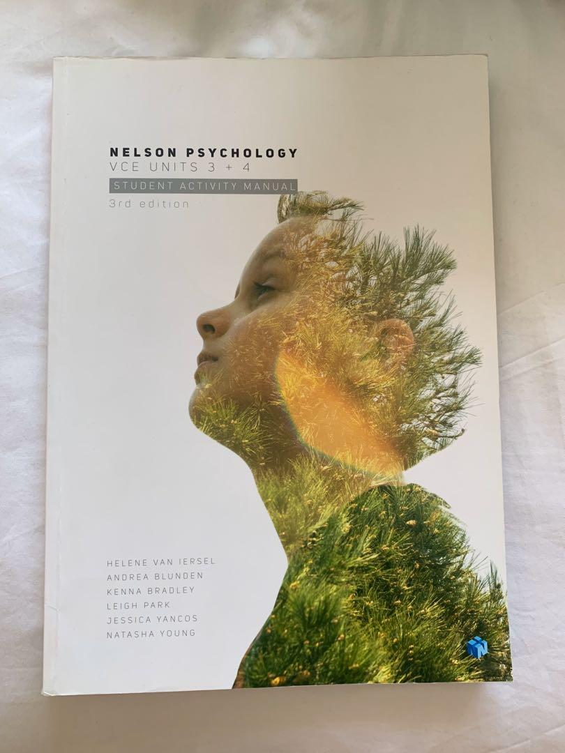 Nelson Psychology VCE 3 + 4 Student Activity Manual