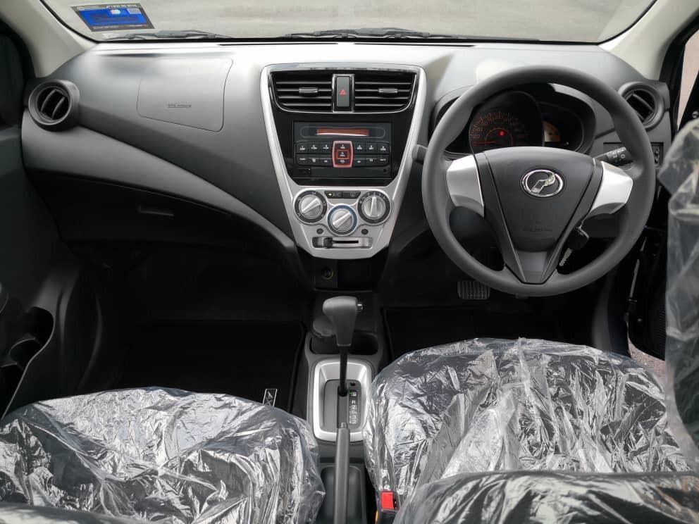 New Perodua Axia G 1.0 (A) Kereta Sewa Budget Selangor KL