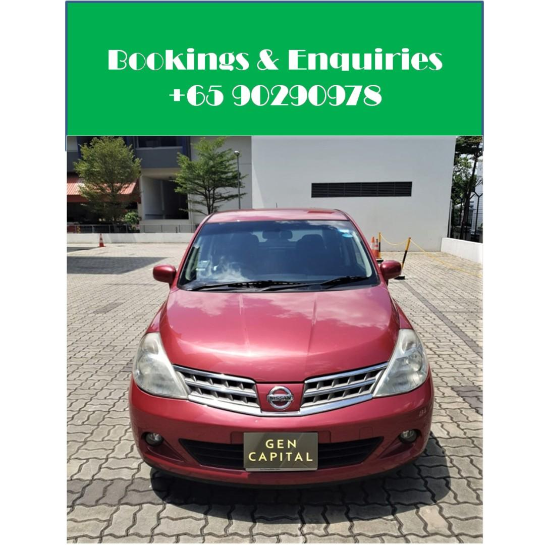 Nissan Latio 1.5A - Just down $500 and drive off! Whatsapp @90290978 NOW!!!