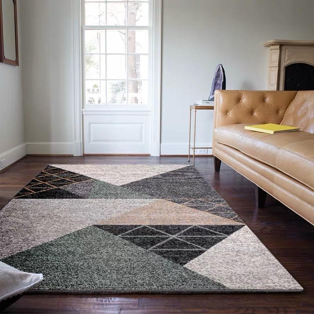Contemporary Scandi Area Rug | Nordic Living Room | Carpet