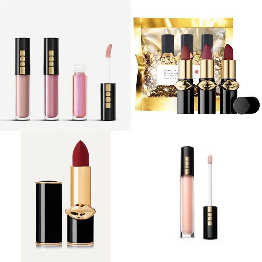Pat McGrath Labs Lipstick Lip Gloss 唇膏 唇蜜