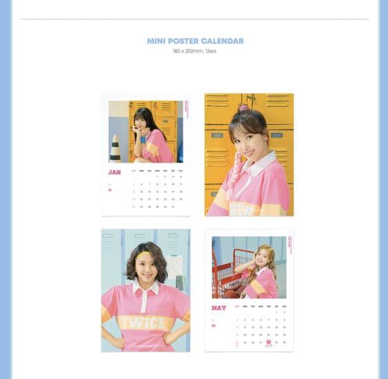TWICE 2020 SEASON'S GREETINGS RUN 20X20 OFFICIAL GOODS SEALED ALBUM  +FREEBIES