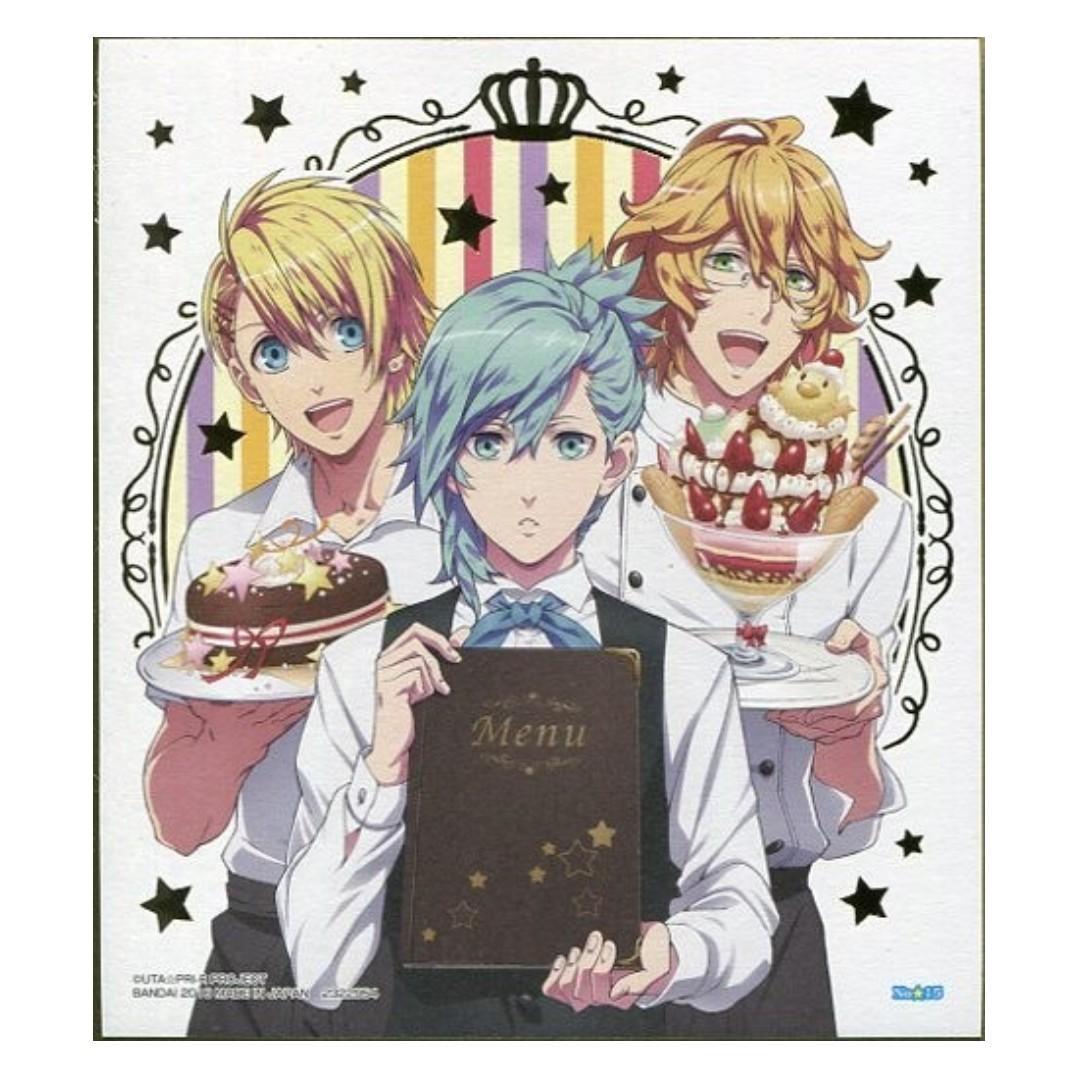 (Rare) Uta no☆Prince-sama♪ Maji Love Revolutions - Kurusu Shou, Mikaze Ai, Shinomiya Natsuki (Foil Stamping) - Mini Shikishi / Mini Autograph Board