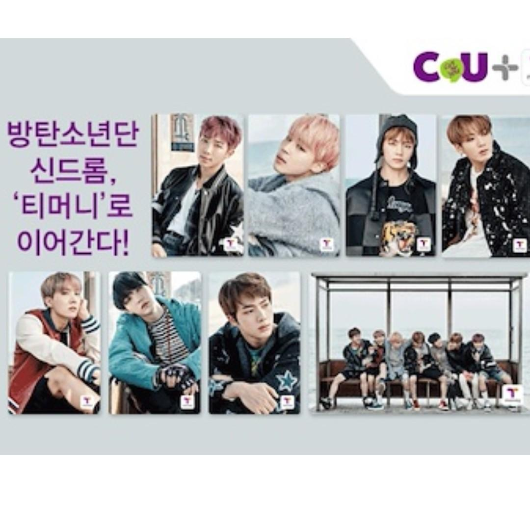 [READY STOCK]EXO / WANNA ONE / BTS / SEVENTEEN TMONEY / CASHBEE KOREA TRANSPORT CARD