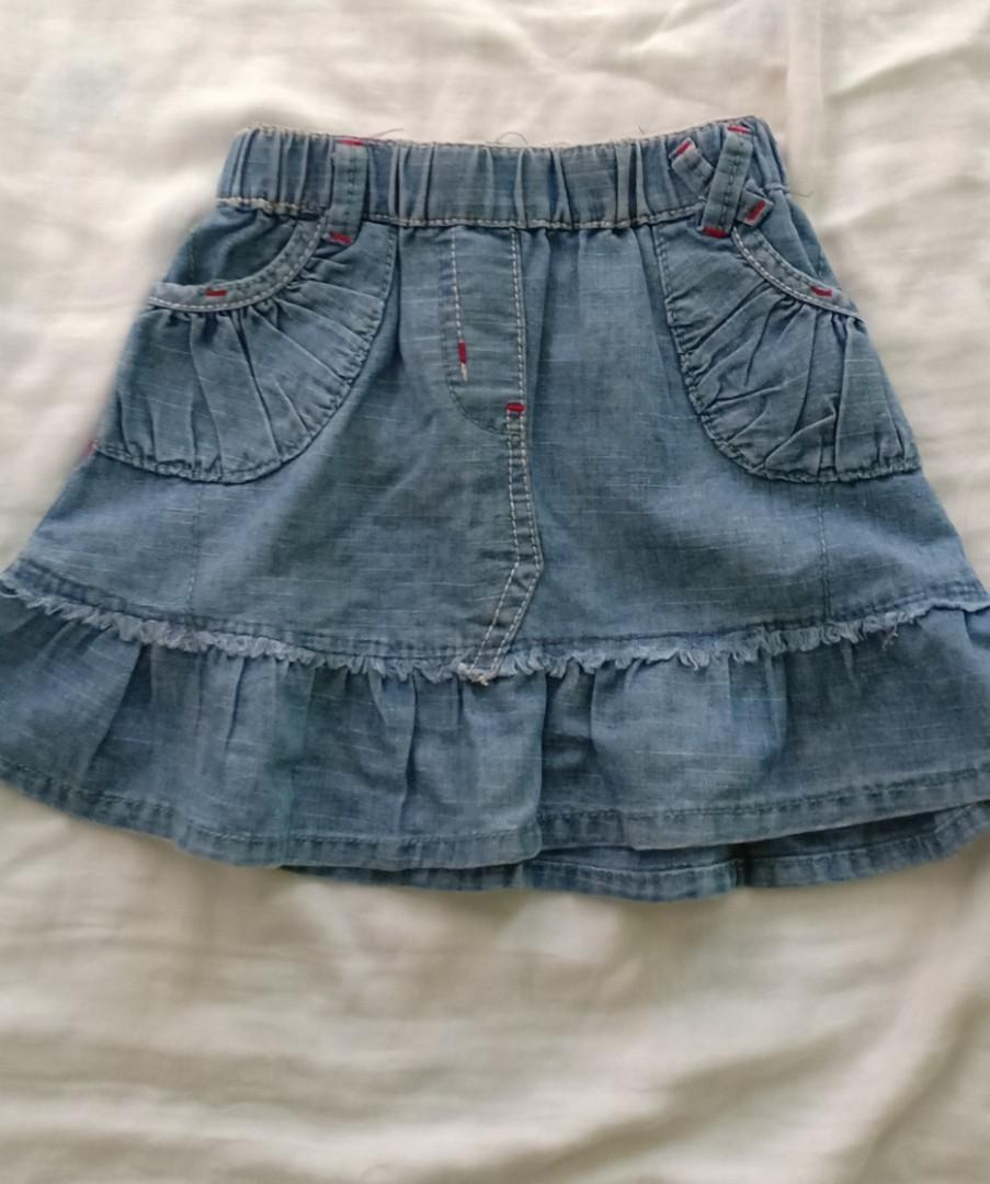 Rok anak jeans zara