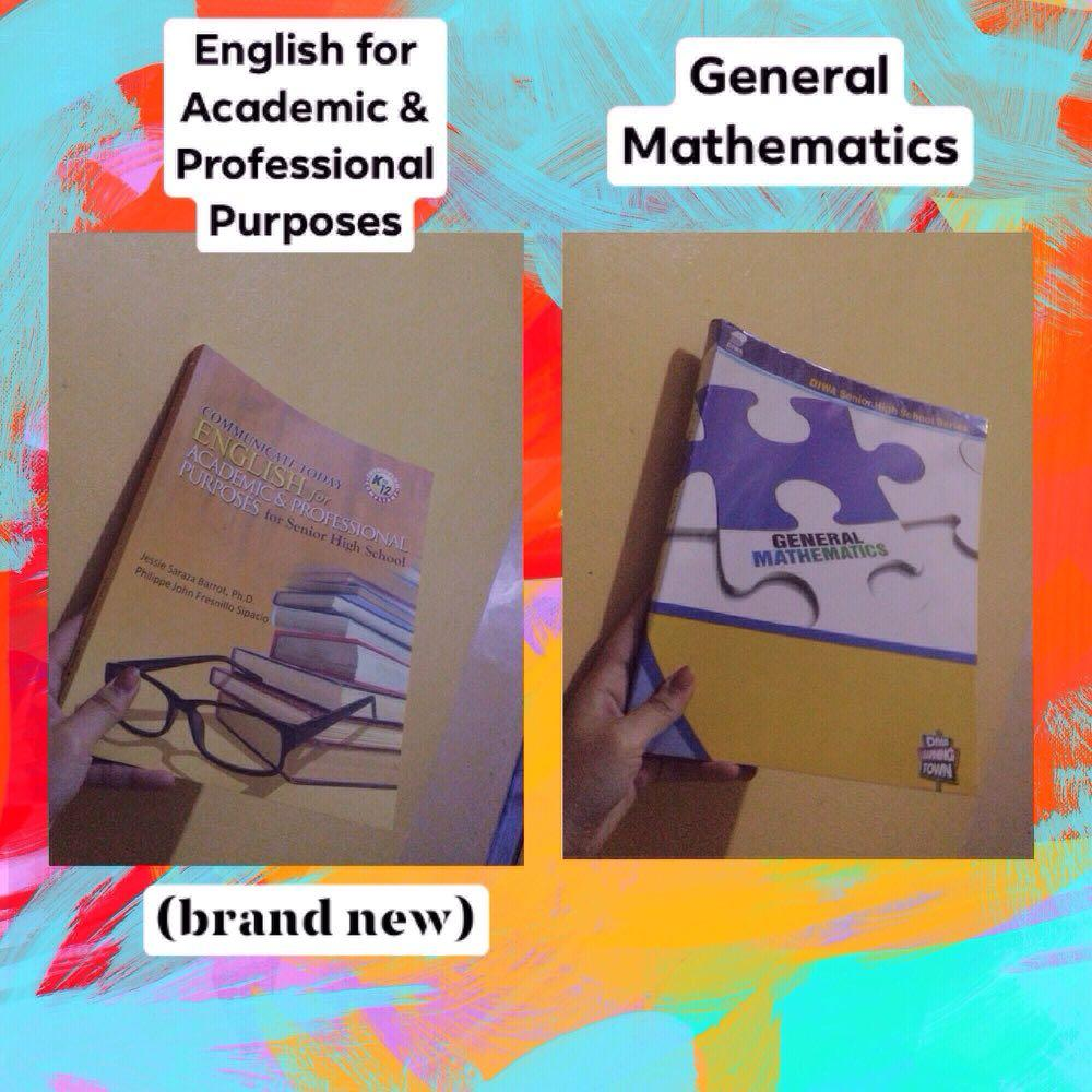 Senior Highschool Books (POLGOV, EAPP, UCSP, GENMATH, PHILO)