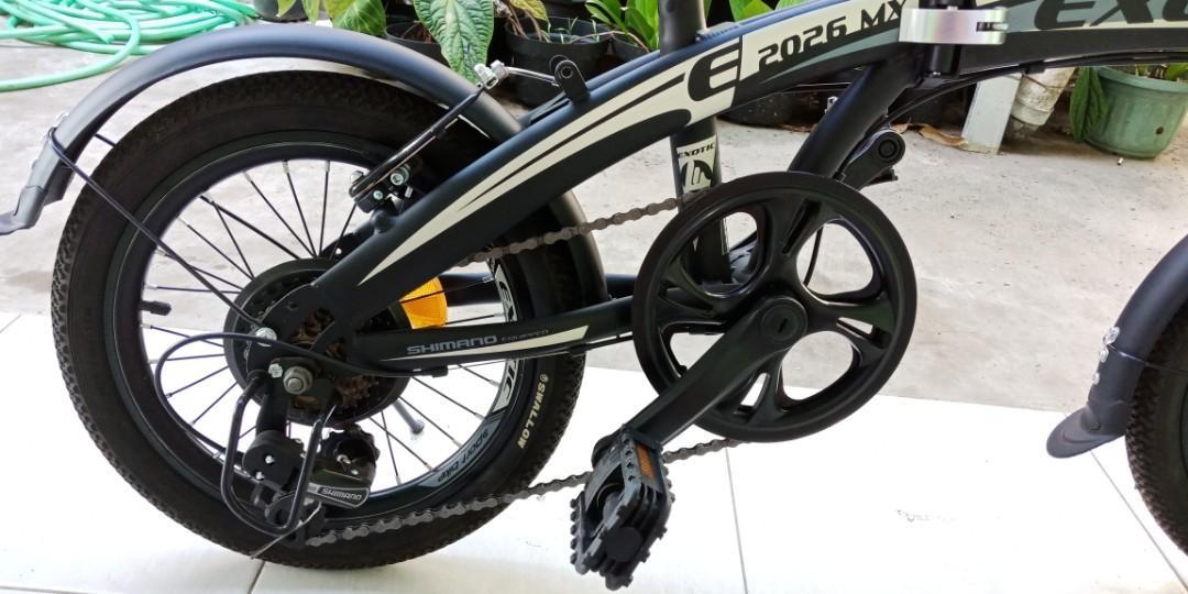 Sepeda lipat clasic exotic 2026 Mx,16 inc