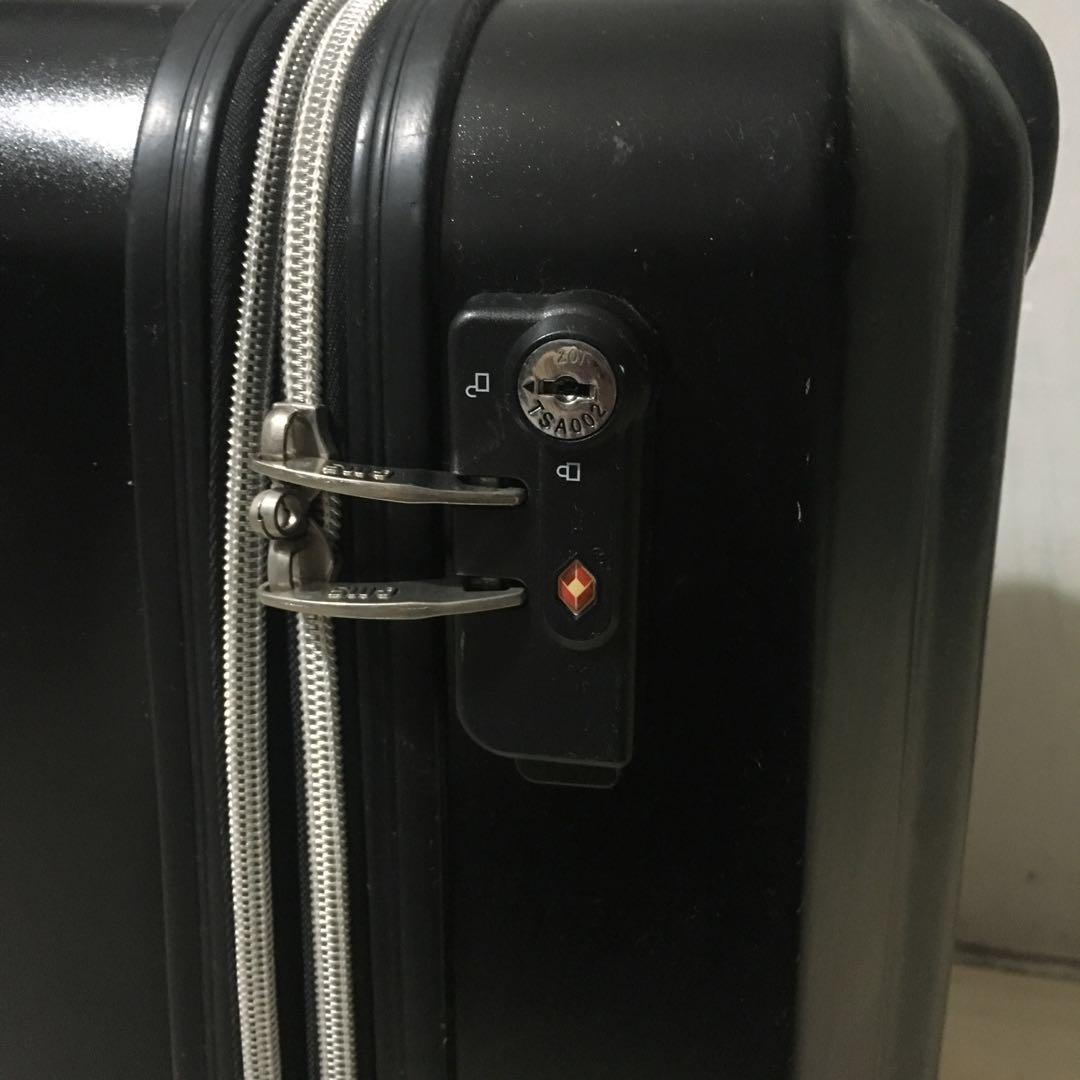 Small luggage suitcase bag
