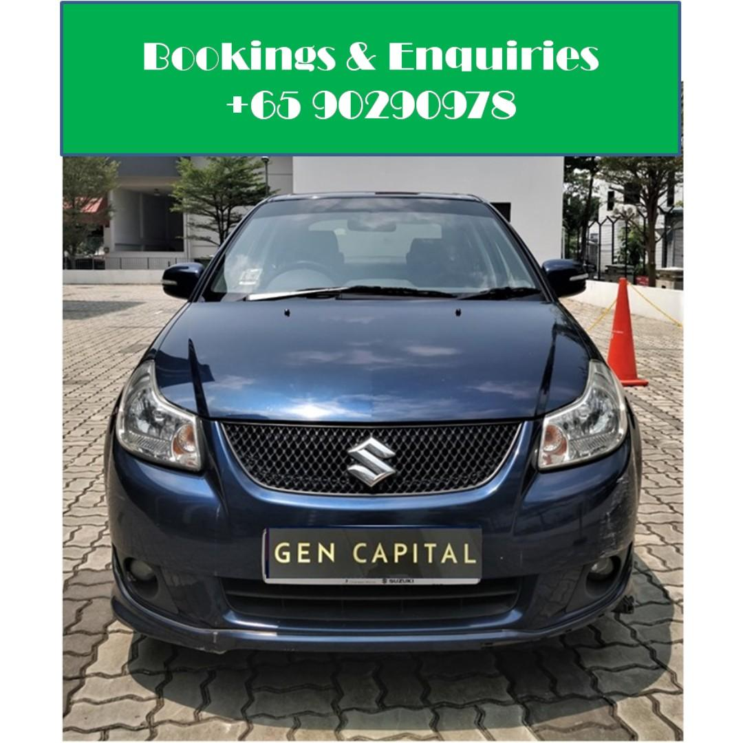 Suzuki SX4 - Just down $500 and drive off! Whatsapp @90290978 NOW!!!