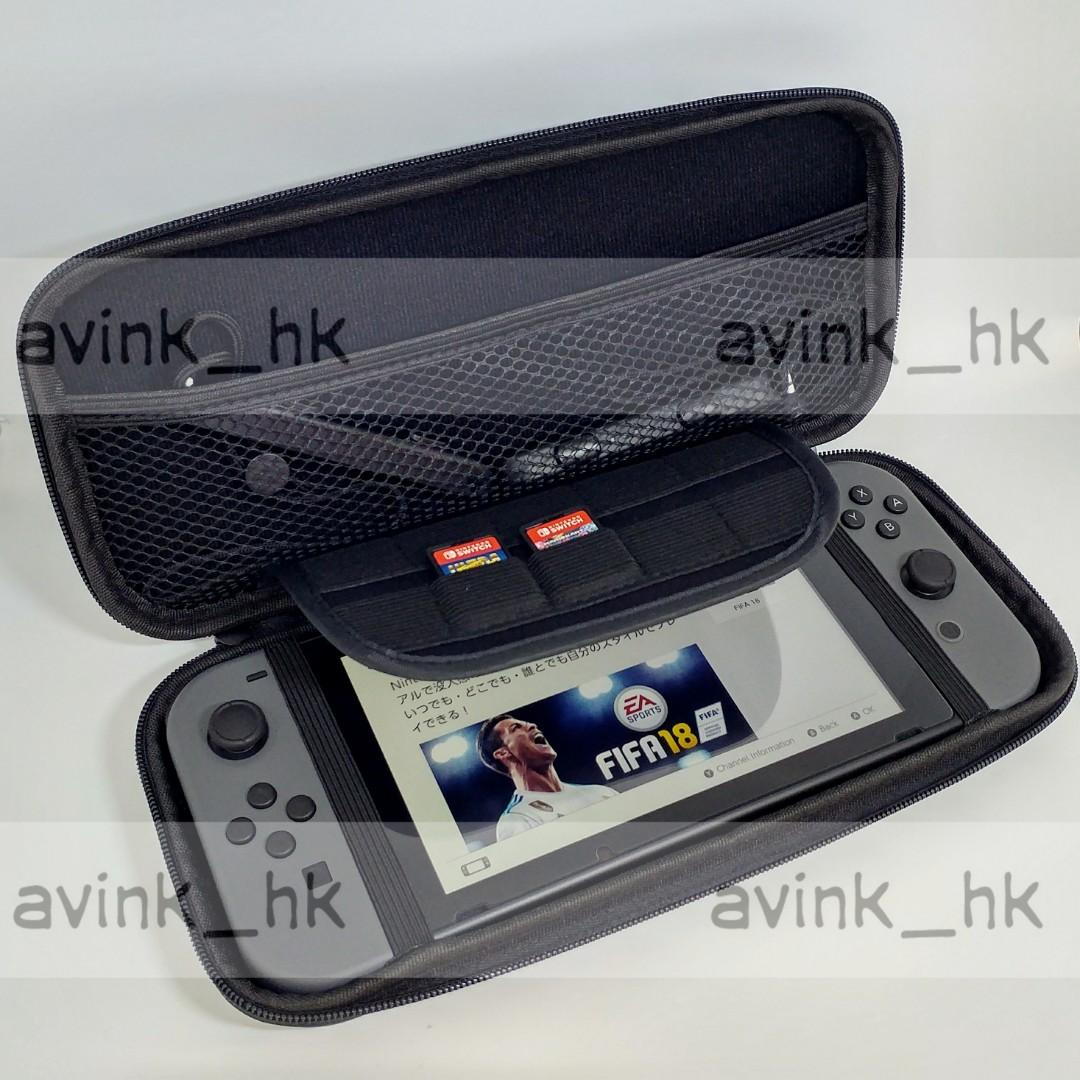 switch 保護包 可以撑起主機 nintendo switch 機袋 任天堂 switch 保護袋 switch 保護套 可放遊戲 switch包 nintendo switch袋 nintendo switch機套