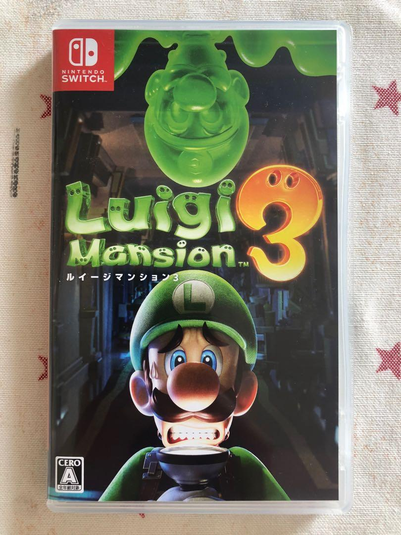 Switch game - Luigi Mansion 3