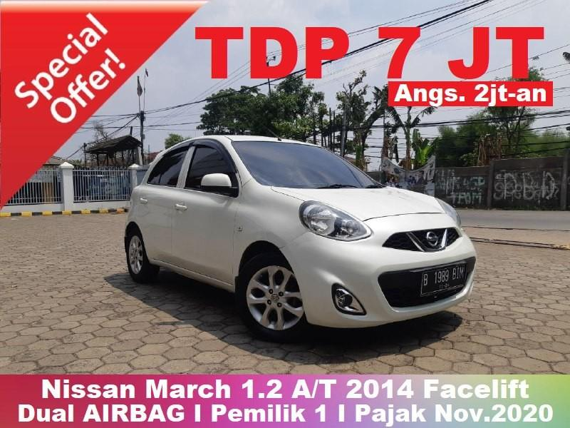 [TERMURAH] Nissan March 1.2 A/T 2014 Facelift AIRBAG ISTIMEWA
