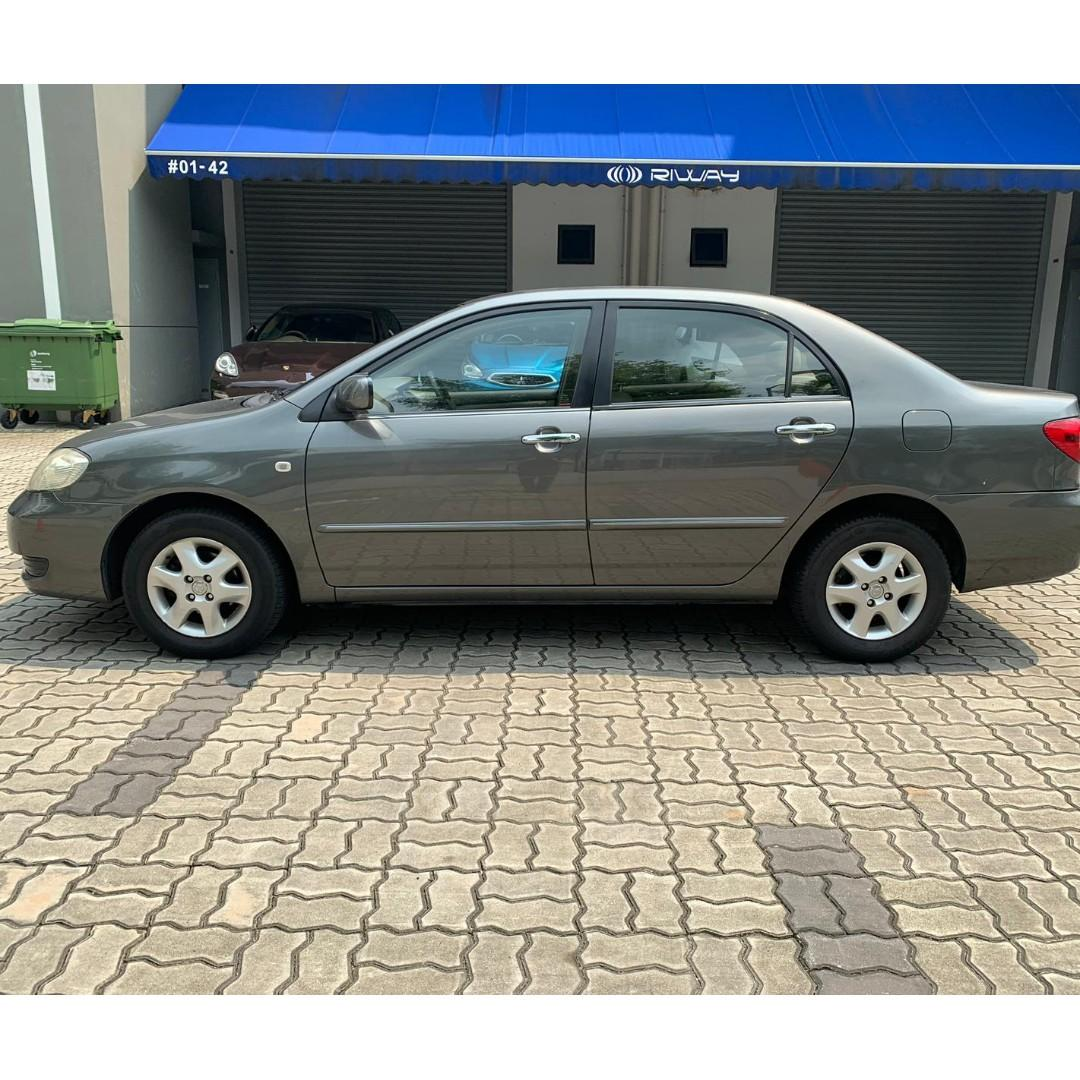 Toyota Altis 1.6A - Just down $500 and drive off! Whatsapp @90290978 NOW!!!
