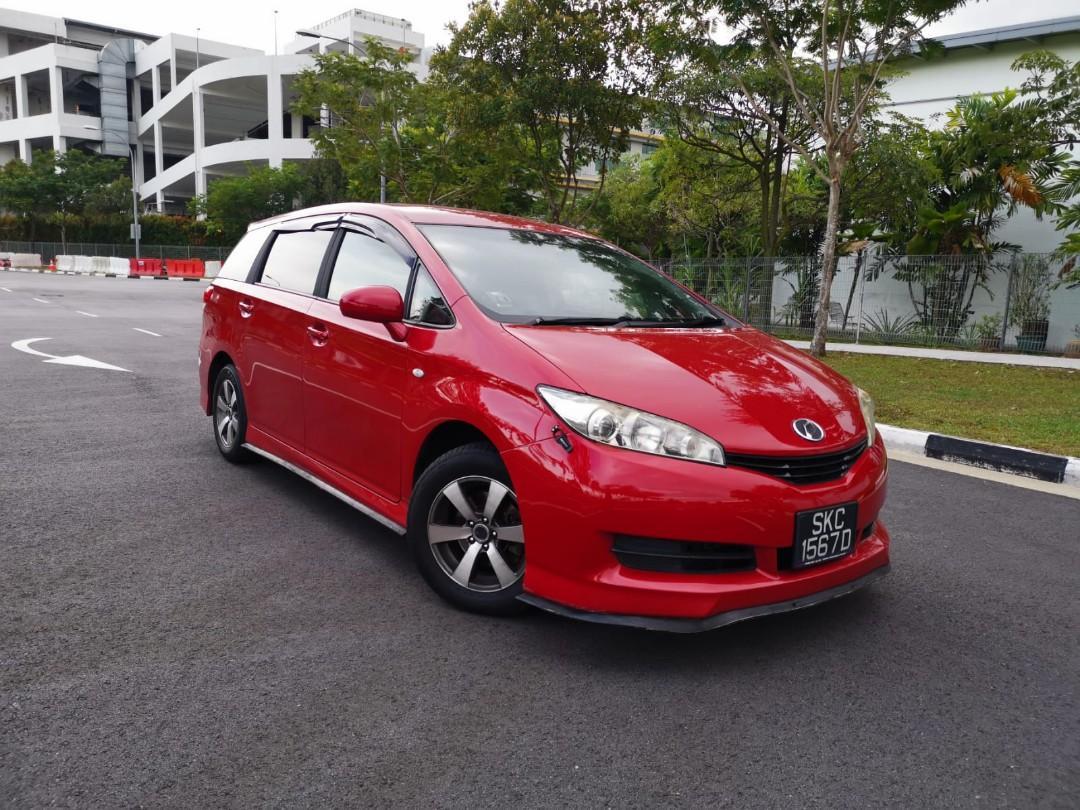[RENT] Toyota wish FOR CAR RENTAL GRAB GOJEK