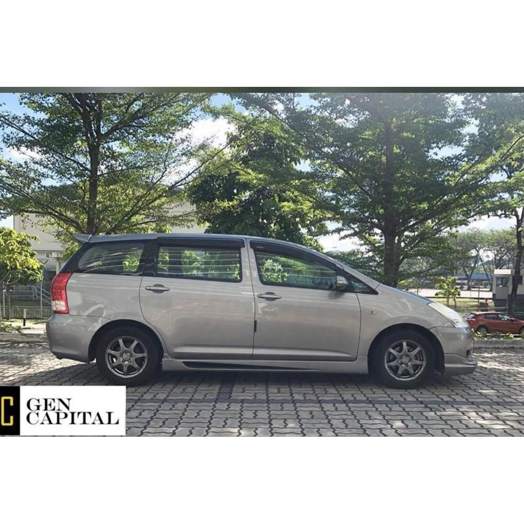 Toyota Wish 1.8 - $500 and go off! Whatsapp @90290978 now!!
