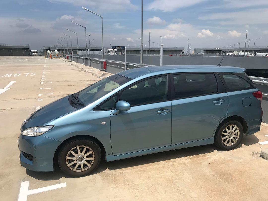 Toyota wish for phv .