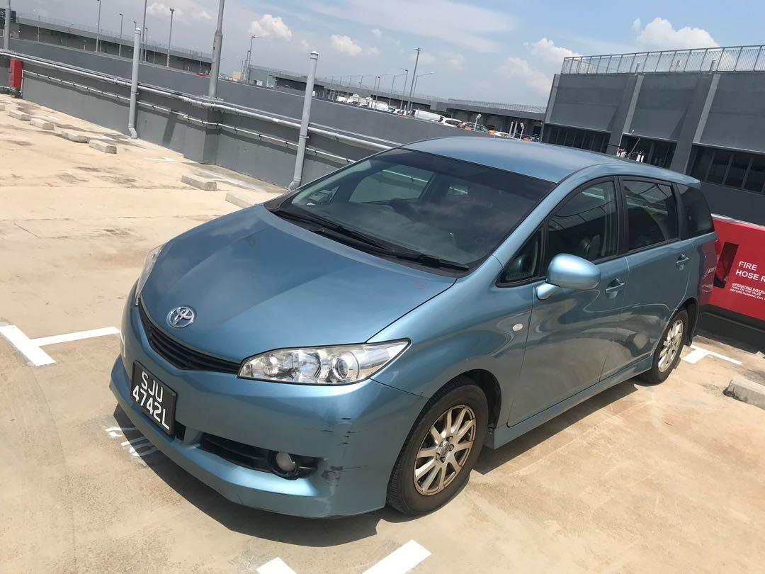 Toyota wish for Rent !