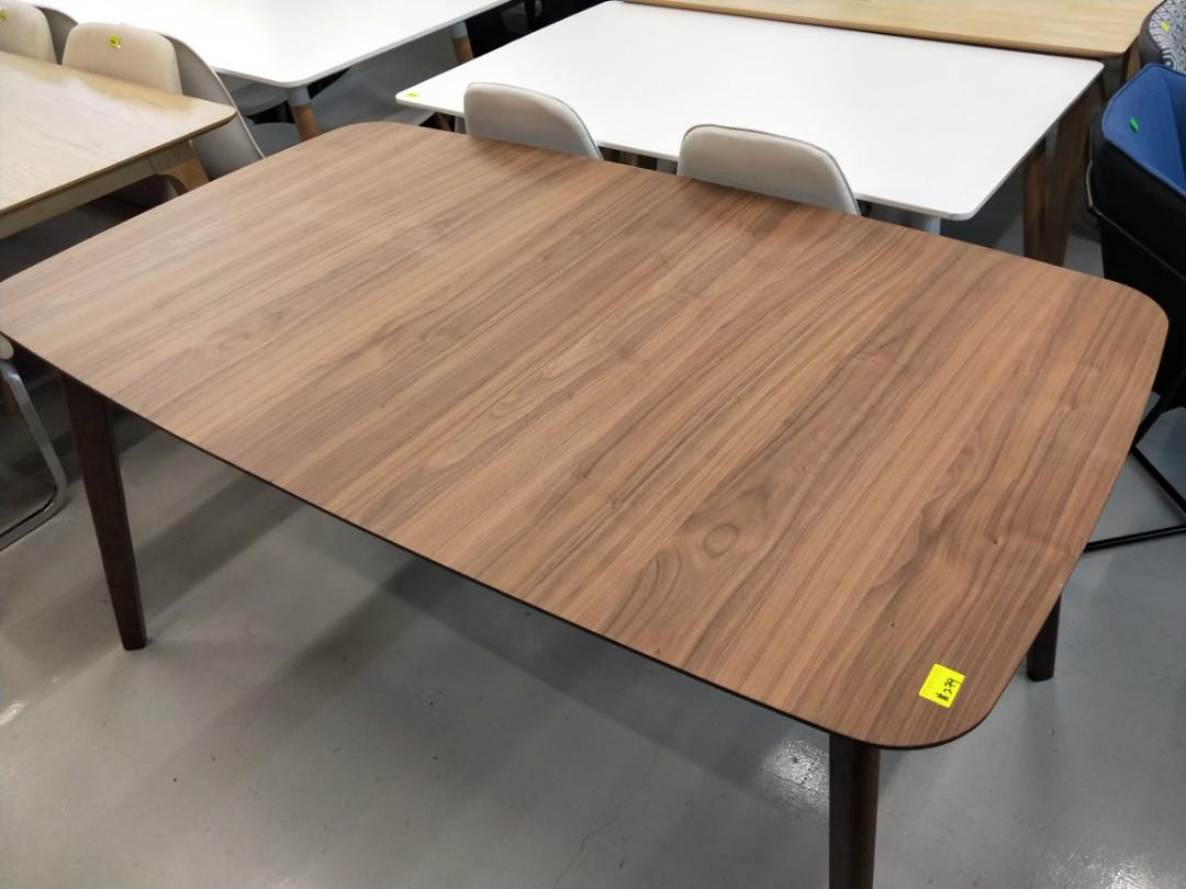 TRAX Extendable Dining Table in WALNUT