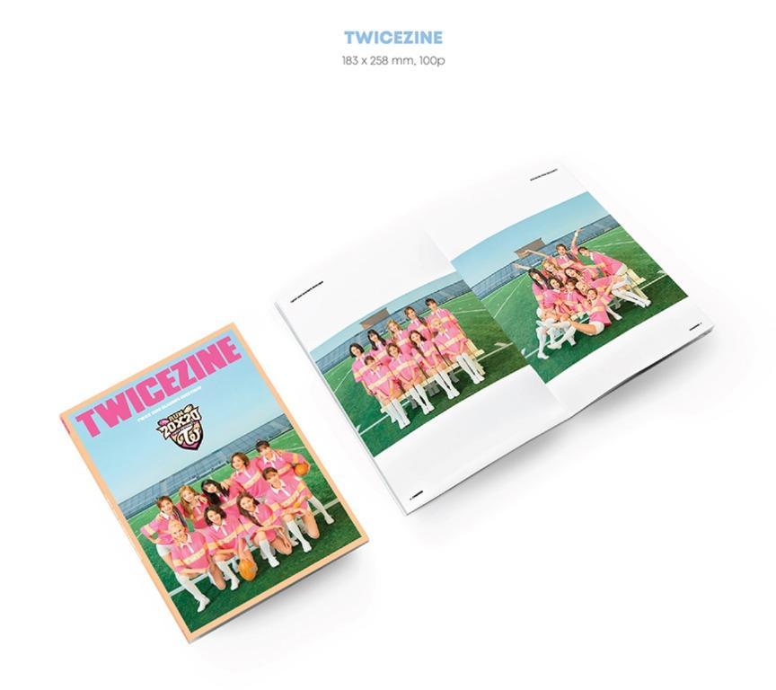 Twice 2020 Season Greeting Run 20x20 Album - Full Set