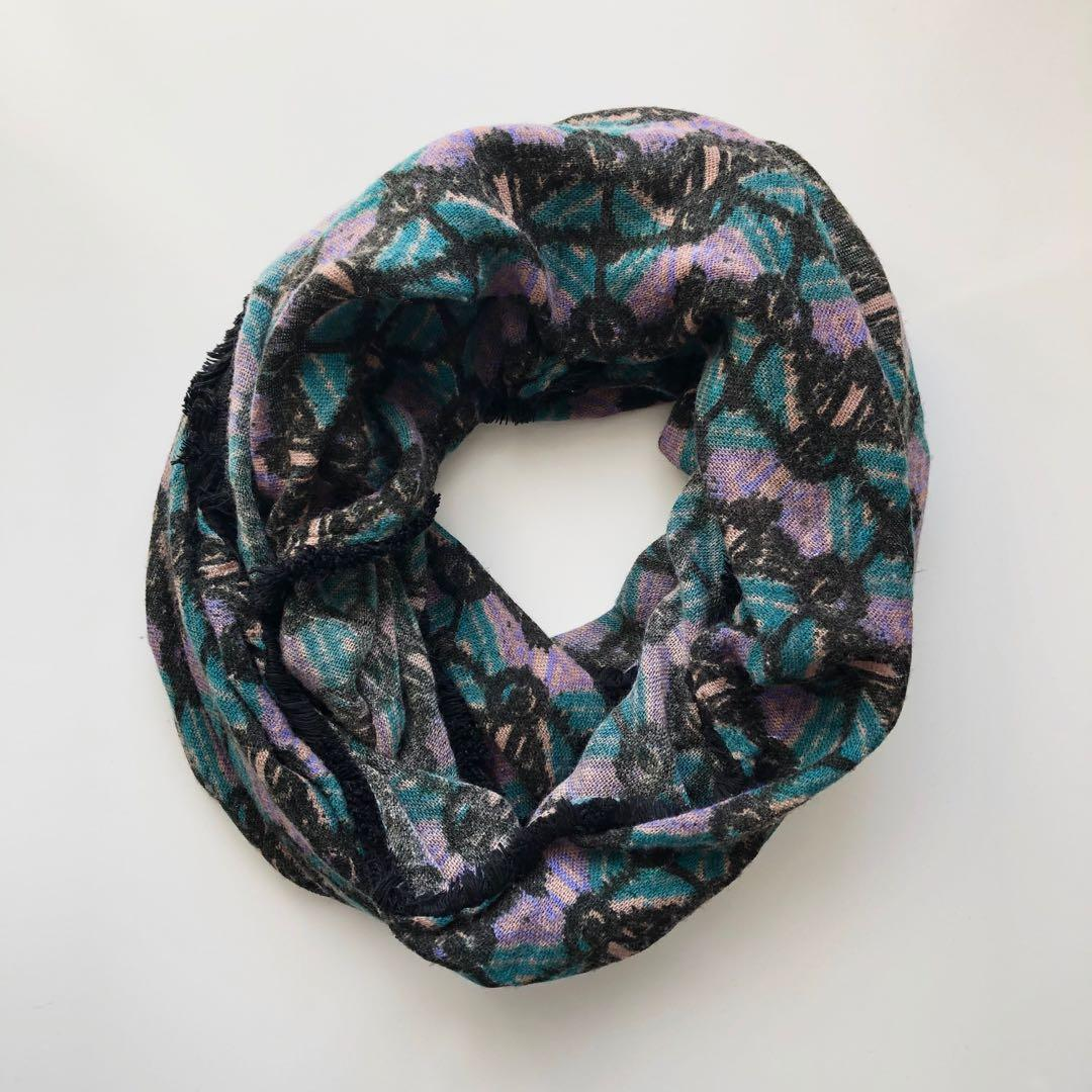 Urban Outfitters Geometric Circle Scarf
